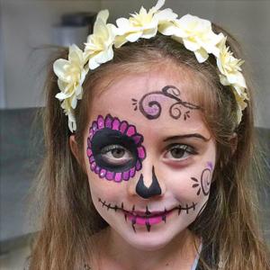 Colorella Galerie Schminkmotiv: Fantasie zu Halloween