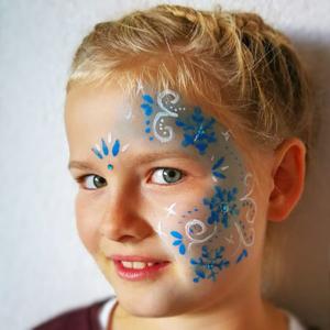 Colorella Galerie Schminkmotiv: Schnee und Kristall